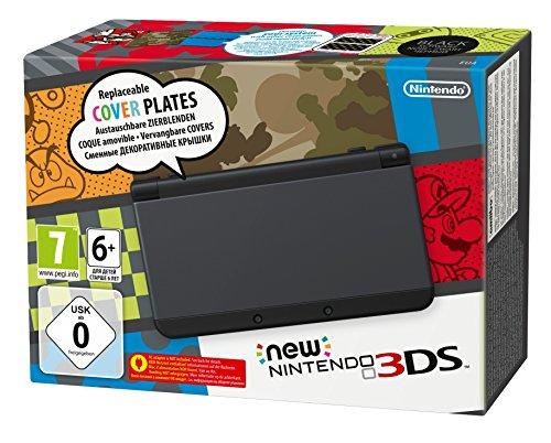 Nintendo New 3DS HW Black Pal Version
