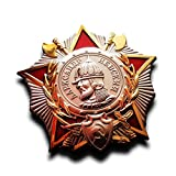 Military Medal Badge Order of Alexander Nevsky Soviet Russian USSR Medal Honor Badge , ww2 Russian Copy