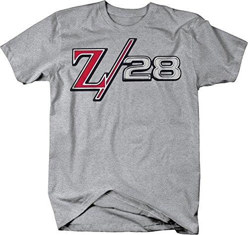 Camaro Z/28 Z28 Classic Emblem Logo Muscle Car Heather Grey ()