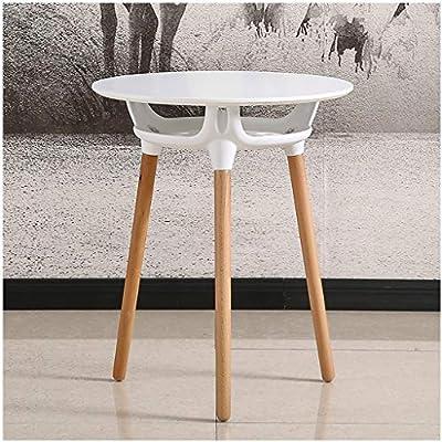 Mesas auxiliares pequeñas Eames Tabla nórdica de madera maciza ...