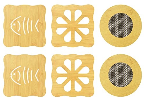 Durable trivet set