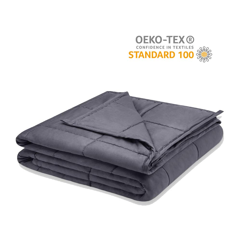 Viki Cooling Weighted Blanket 20 lbs for Adults   48''x78''   Heavy Blanket is Good to Deep Sleep   Weighted Blanket Adult Summer sleep blankets Sleep blankets review – benefits of sleeping with weighted blankets 51XsLxJD DL