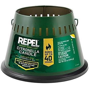 Amazon.com : Cutter Citro Guard Candle (Tan Bucket) (HG ...