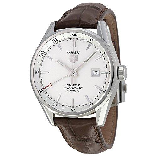 TAG Heuer Men's WAR2011.FC6291 Analog Display Swiss Automatic Brown Watch