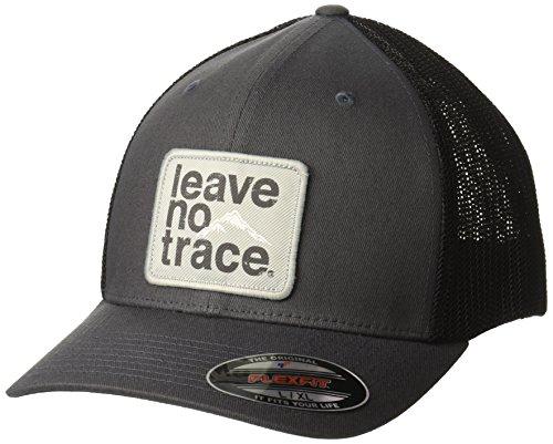 - Columbia Men's Trail Ethos Mesh Hat, Graphite, Leave no Trace, S/M