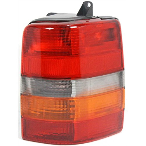 Evan-Fischer EVA15672012503 Tail Light for Jeep Grand Cherokee 93-98 Lens and Housing Right (98 Jeep Grand Cherokee Wagoneer)