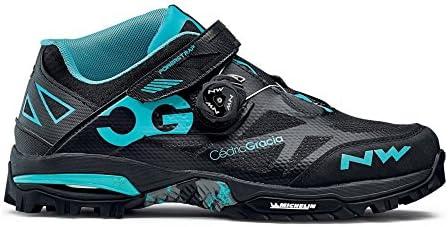 Northwave Enduro Mid MTB Zapatos de Bicicleta Negro/acuático ...