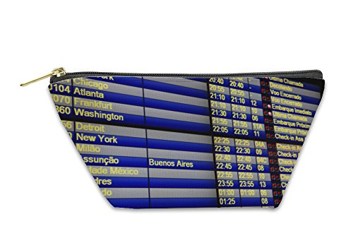Gear New Accessory Zipper Pouch, Flight Schedule, Large, 5917399GN
