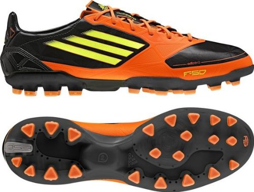 adidas scarpa base ball F50 ADIZERO TRX AG (black/avvertenze
