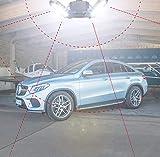 80W LED Garage Lights, Deformable Garage Light with