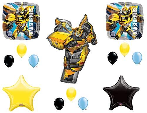 Bumblebee Transformers Movie Birthday Party Balloons Decoration John Cena for $<!--$19.98-->