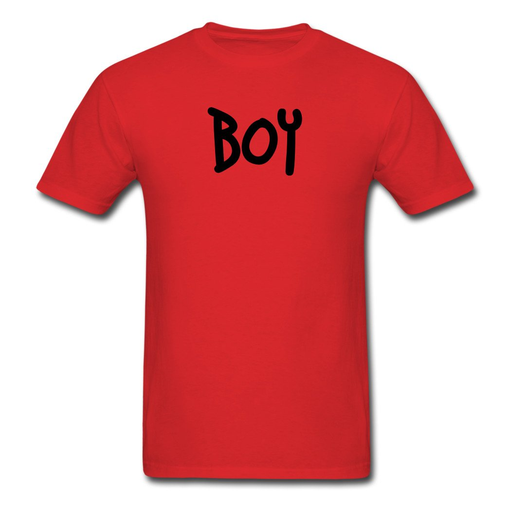 Boy Logo, Printed T-shirts Birthday Gift For Him For Her
