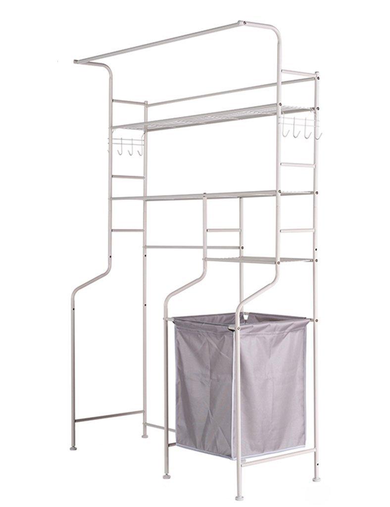 DIDIDD Shelf-Hwf Bathroom Shelves Washing Machine Shelves Balcony Bathroom Storage Rack Floor Multi-Function Drum Washing Machine Rack