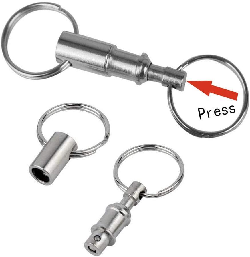 Portachiavi in pvc colorato con doppio anello per chiavi