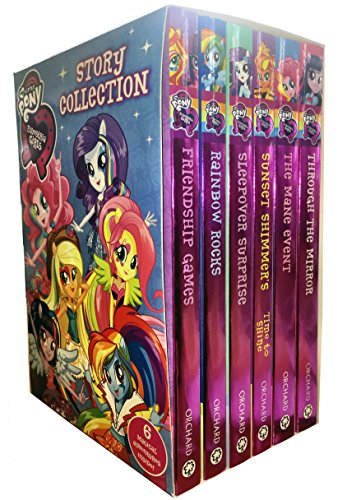 My Little Pony Equestria Girls Story Collection 6 Books Box Set by Perdita Finn