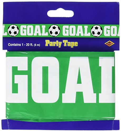 Goal (Soccer) Party Tape Party Accessory (1 count) (1/Pkg)