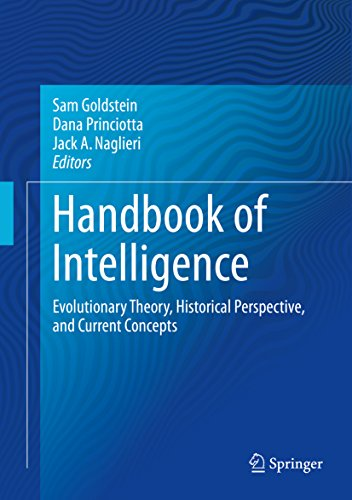 Handbook of Intelligence: Evolutionary Theory, Historical Perspective, and Current Concepts Pdf