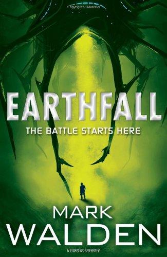 """""""Earthfall"""" av Mark Walden"""