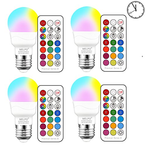 Led Light Bulbs And Timers