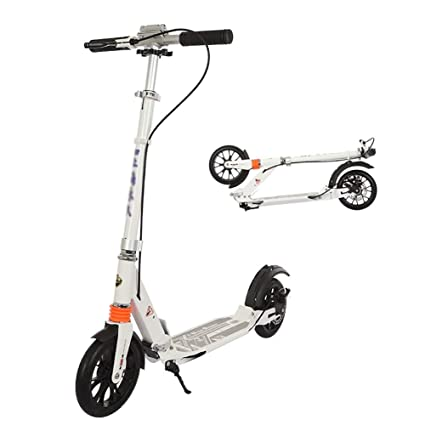 Patinete- Adultos Scooter Plegable De Ruedas Grandes para ...