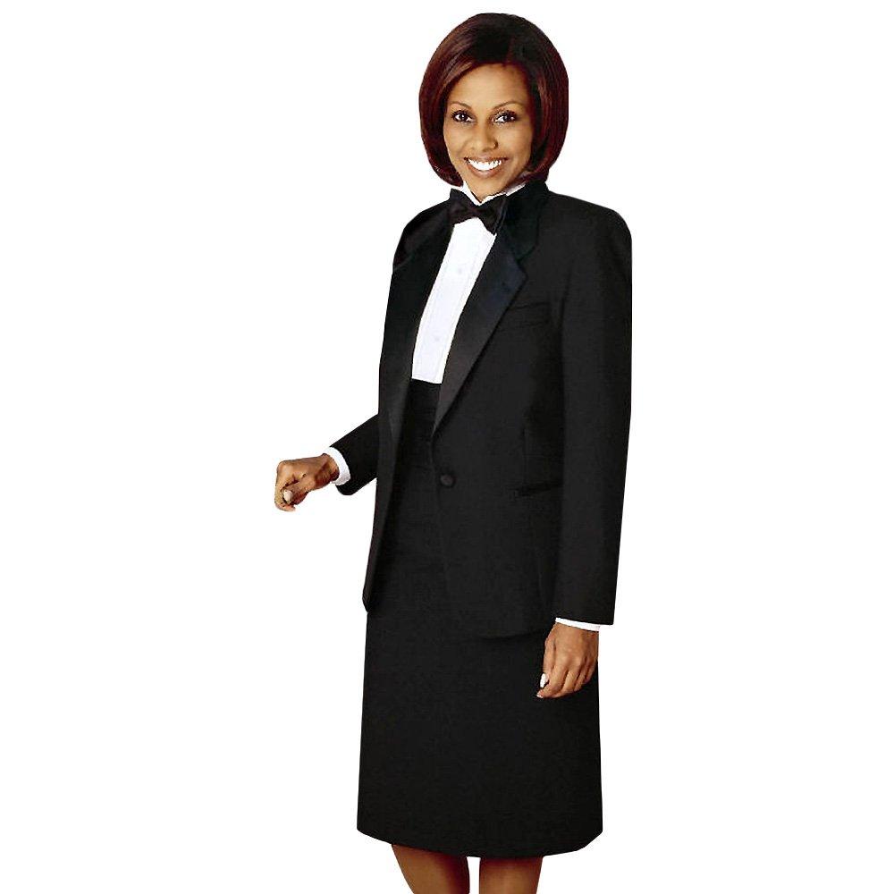 Averills Sharper Uniforms Womens Ladies Notch Lapel Tuxedo Jacket