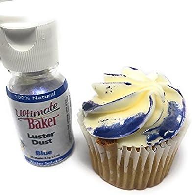 Amazon Com Ultimate Baker Blue Luster Dust Kosher
