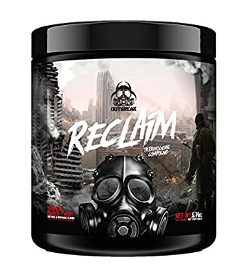 Reclaim Thermogenic Compound – Fat Burner Weight Loss Supplement, Acetyl L-Carnitine Stimulant Powder, Consumes Calories Stimulate Fat Loss, Tropical Ginger Twist, 163g
