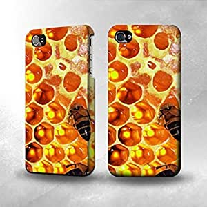 Apple iPhone 4 / 4S Case - The Best 3D Full Wrap iPhone Case - Beehive