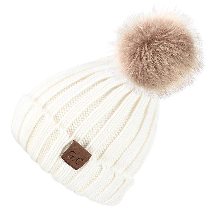 VAMEI 1pcs Sombreros de Invierno para bebé Gorros de Punto Gorro de Invierno  para bebé  Amazon.es  Ropa y accesorios 554c014fceb