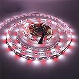 kitchen 67 hours HJD Light 16.4ft 5M 5050 300leds IP 67 RGBWW LED Strip Lights RGB+White LED Flexible Lights Waterproof Rope Light + 40 Key Remote Controller