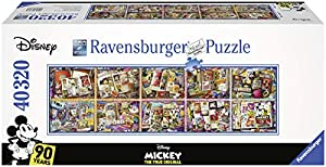 Mickey Through The Years - World's Largest Mickey Puzzle - 40320 pcs - Mickey 90th Anniversary Edition - Made in Germany Jigsaw Puzzle