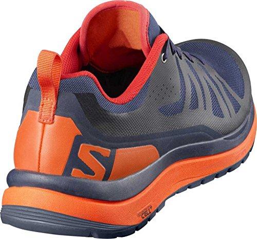 Chaussure De Randonnée Salomon Odyssey Pro - Homme Navy Wil / Flame / Firey Red