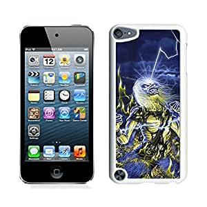 Popular And Unique Custom Designed Case For iPod Touch 5 With Iron Maiden 2 White Phone Case