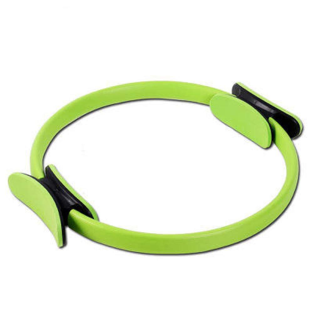 nouler Premium Power Resistance Full Body Toning Fitness Magic Circle Yoga Pants,Green,One Size