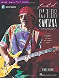 Best of Carlos Santana - Signature Licks: A Step-by-Step Breakdown of His Playing Techniques Bk/Online Audio (Guitar Signature Licks)