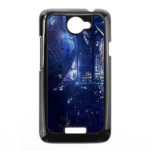 HTC One X Cell Phone Case Black af77 digital world anime art illust urban BNY_6926587