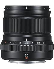 Fujifilm 16580612 Fujinon XF 50mm F2 R Weather Resistant Aspherical Lens, Black