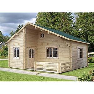 Best Epic Trends 51XsUx82JHL._SS300_ Allwood Ranger Cabin Kit | 259 SQF + 168 SQF Loft