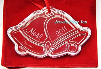 Baccarat 2011 Annual Crystal Noel Ornament – Jingle Bells
