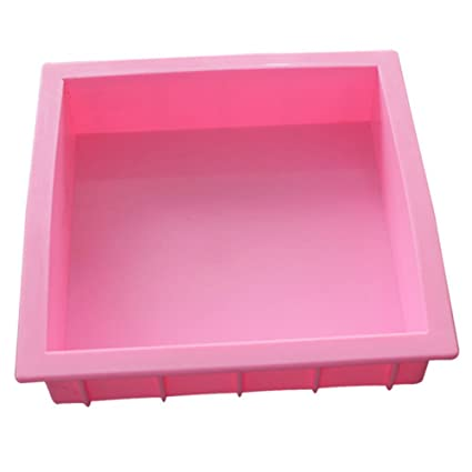 1.2L Handmade Soap Silicone Rectangle Fandont Mold Pastry Bread Bakeware Tools