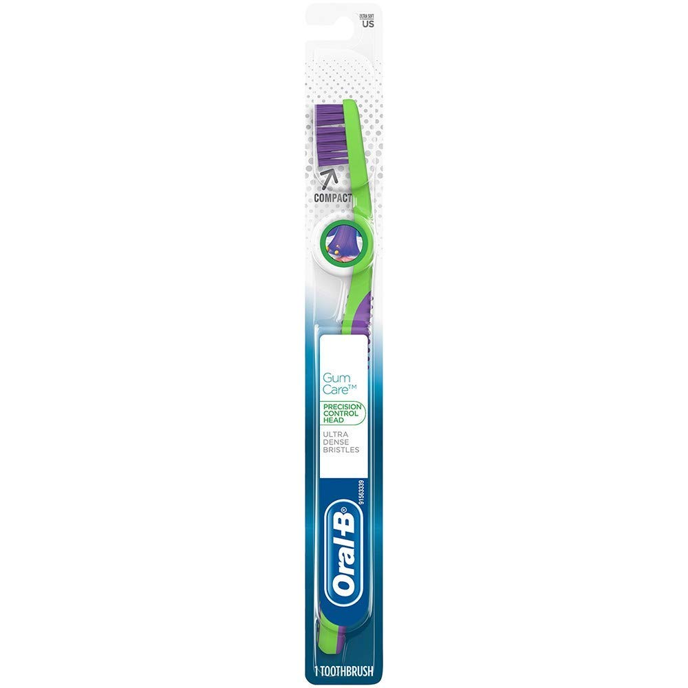 Oral-B Pro-Health Compact Toothbrush Ultra Dense, Gum-Care (1 Pack)