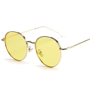 Amazon.com: Gafas de sol redondas retro para mujer ...