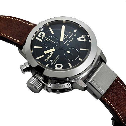 U-Boat 7432-A Classico 50 Tungsteno CAS1 Wristwatch