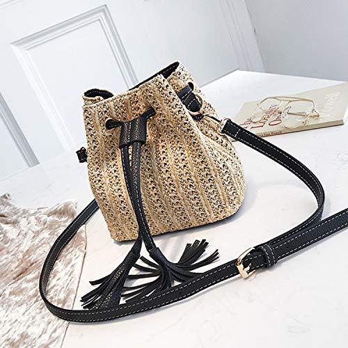 Moda Crossbody Shopping Uso Di Viaggio Ynnb Bag Ladies A Tessuto Tracolla Nappa beige Borsa Per Beige Beach E Borsa Quotidiano Secchio wqxpqgBz8