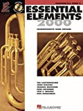 Essential Elements 2000, Book 2 - Baritone (B.C.) - Bk+CD
