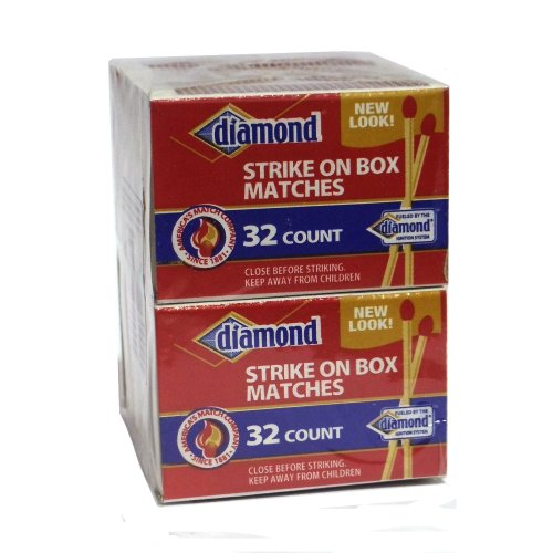 10 Pack - Diamond Strike on Box 32 Count Matches ()