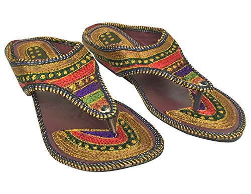 à Bohème Hippie Ethnique à Étape D'orteil Sari Style Sandale Kurti Main Lanières Bague la fabriqué N qqY8w0P