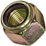 Steel Lock Nut, Zinc Yellow-Chromate Plated