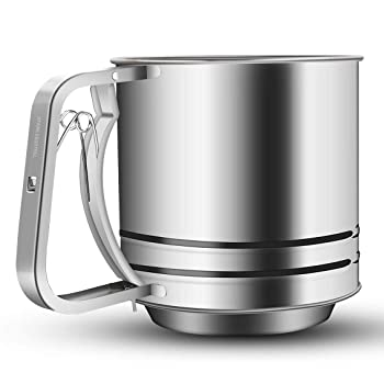 NPYPQ stainless steel flour sifter