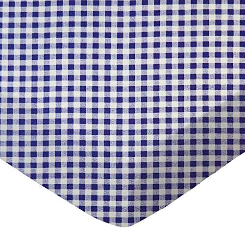SheetWorld Fitted Sheet,Purple Gingham Check,100% Cotton Percale,Fits BabyBjorn Travel Crib Light Mattress 24 x 42 [並行輸入品]   B077YTQGPQ